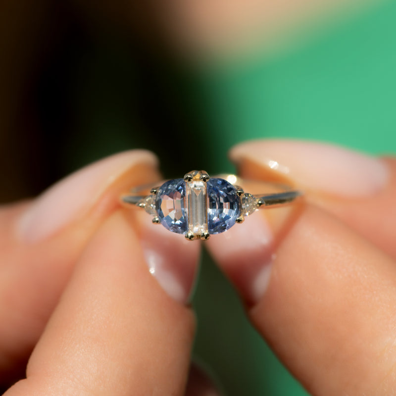 Half-Moon-Sapphire-Engagement-Ring-with-Baguette-Cut-Diamond--top-shot