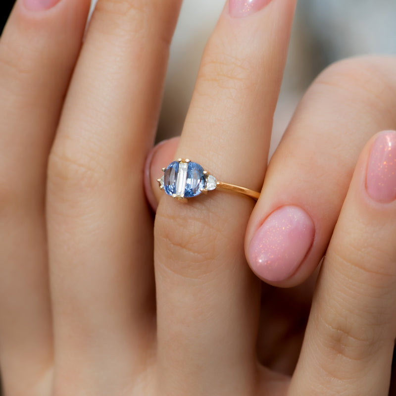 Half-Moon-Sapphire-Engagement-Ring-with-Baguette-Cut-Diamond-side-shot