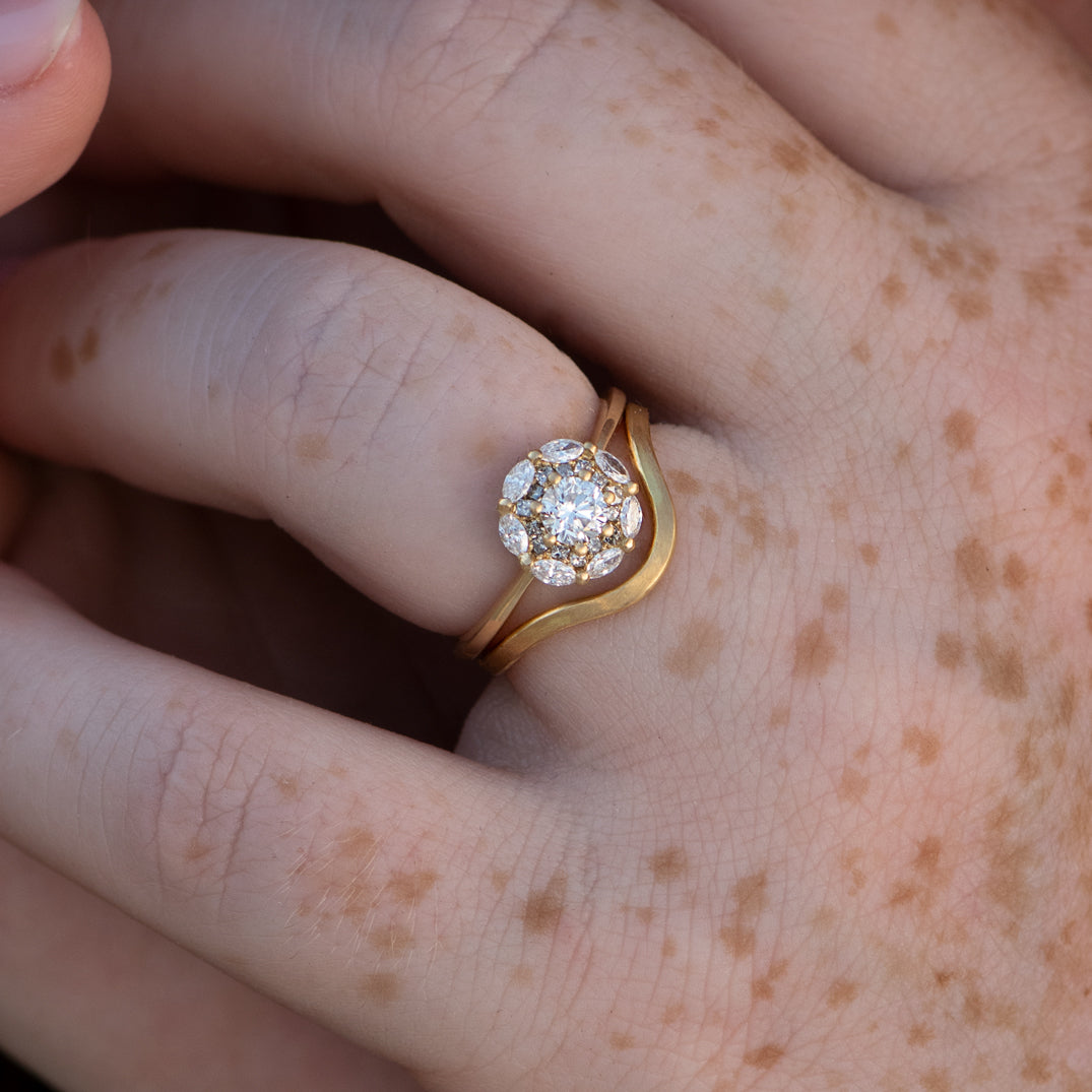 Mandala-Engagement-Ring-with-White-and-Grey-Diamonds-top-shot-freckles