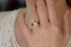 Wedding Set of Three Rings