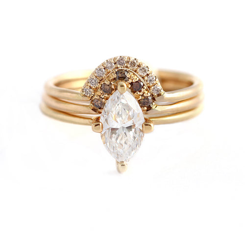 Marquise Wedding Set