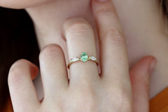 eco engagement ring