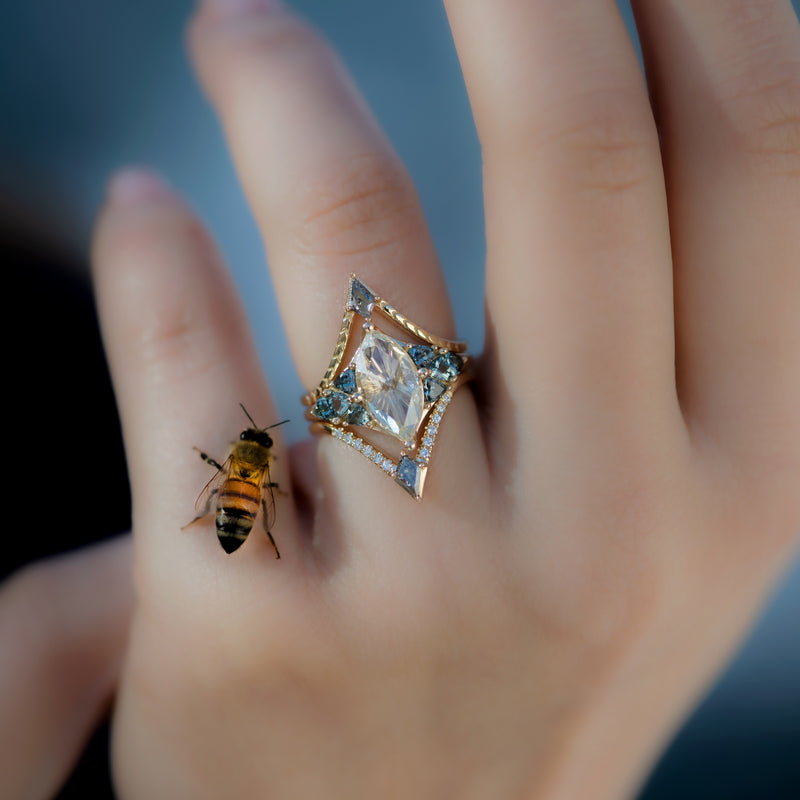 Nesting-Kite-Diamond-Wedding-Ring-with-a-Pave-Diamond-Band-in-set-bumblebee