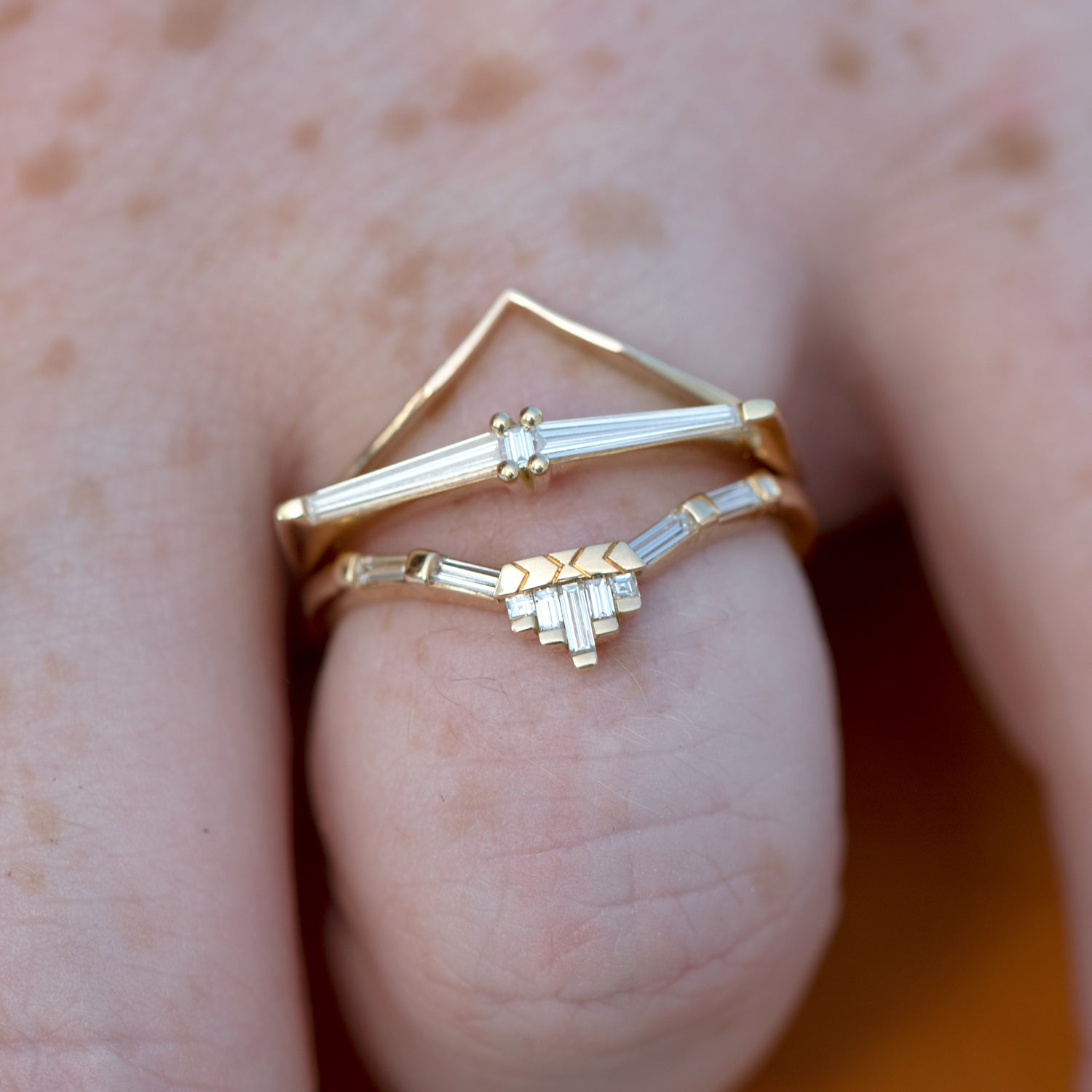 Nesting-Wedding-Ring-baguette-tower-CLOSEUP-in-set