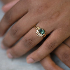 Nesting-Wedding-Ring-with-Baguette-Diamonds-in-set