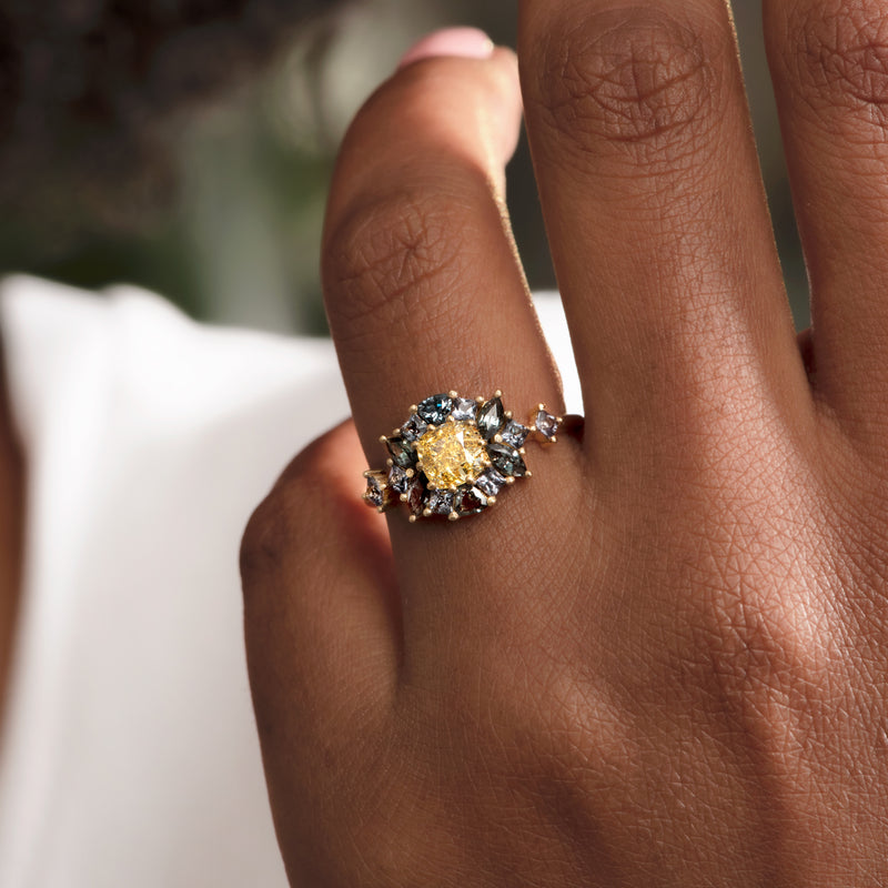 OOAK-Color-Changing-Garnet-Engagement-Ring-with-Fancy-Yellow-Diamond-top-shot