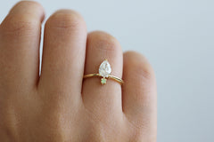 Pear Diamond Engagement Ring