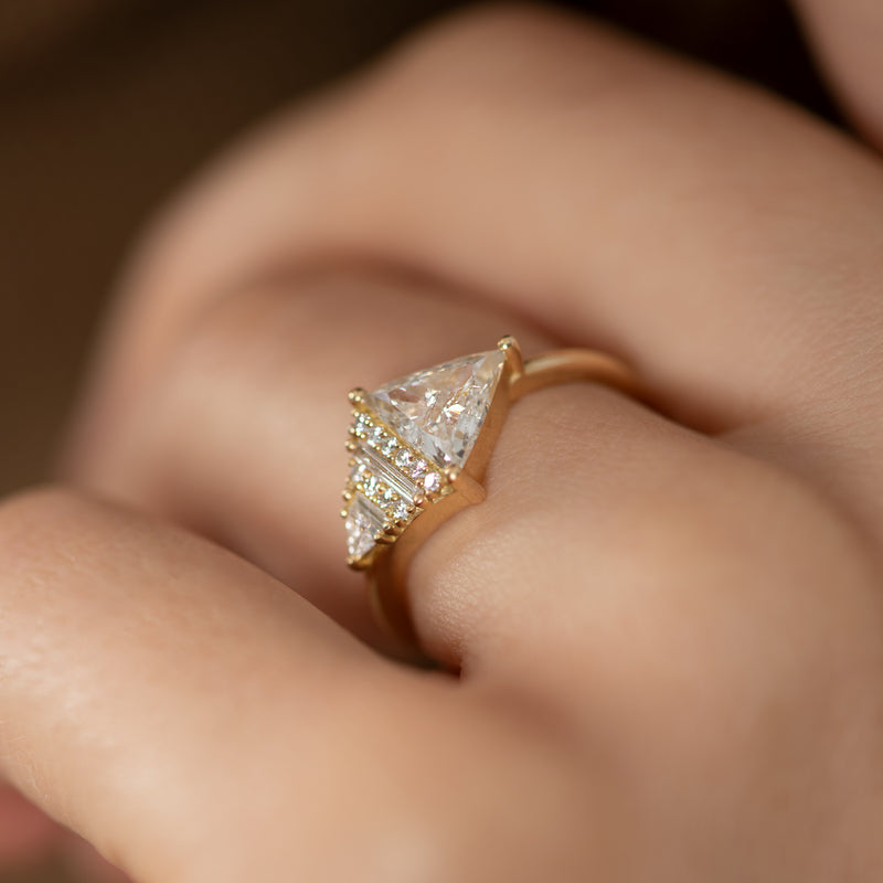 Rhombus-Engagement-Ring-with-Mixed-Diamond-Cuts-side-shot