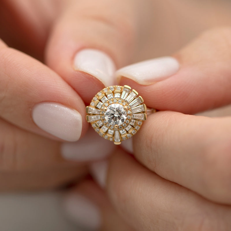 Round-Diamond-Cluster-Ring-with-Asymmetric-Frills-top-shot-closeup