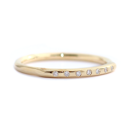 Thin Gold Wedding Band