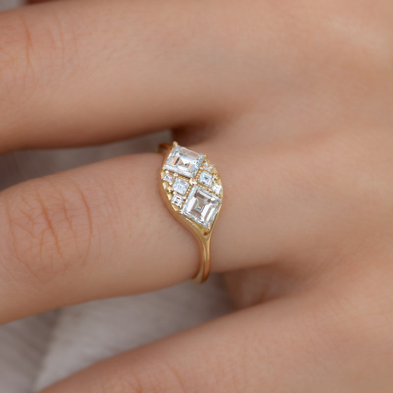 Step-Cut-Engagement-Ring-with-Eight-Square-Diamonds-moment