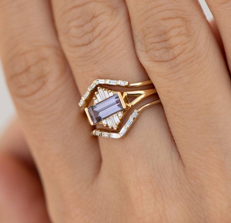 Tanzanite-Engagement-Ring-with-Baguette-Diamond-Pyramids-OOAK-in-set