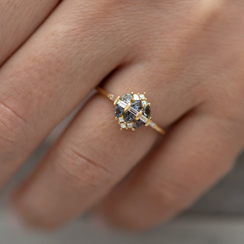 Teal-Sapphire-and-Diamond-Cluster-Engagement-Ring-top-shot