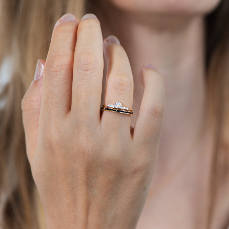 Three-Stone-Engagement-Ring-with-Half-Moon-and-Baguette-Cut-Diamonds-moment-in-set
