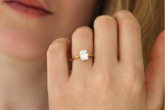 Diamantring Solitaire