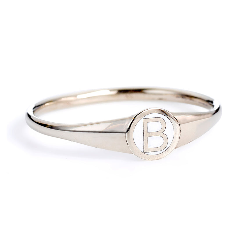Monogram Ring - Gold Name Ring