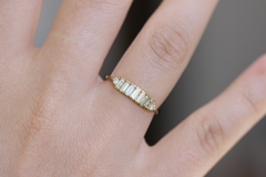 Baguette Diamond Band - Baguette Ring