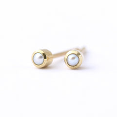 basic pearl earrings
