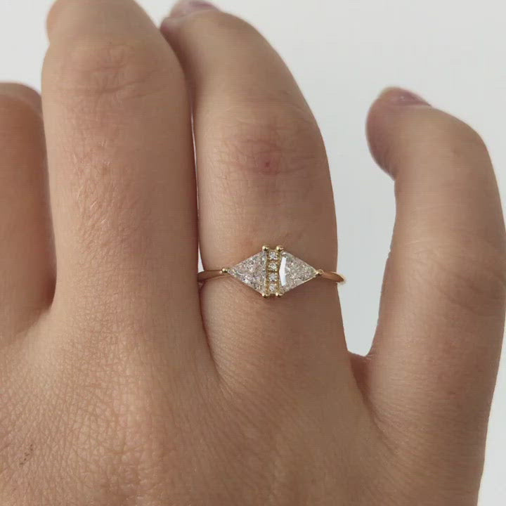 Vintage-Diamond-Triangle-Ring-Delicate-geometric-engagement-ring-video