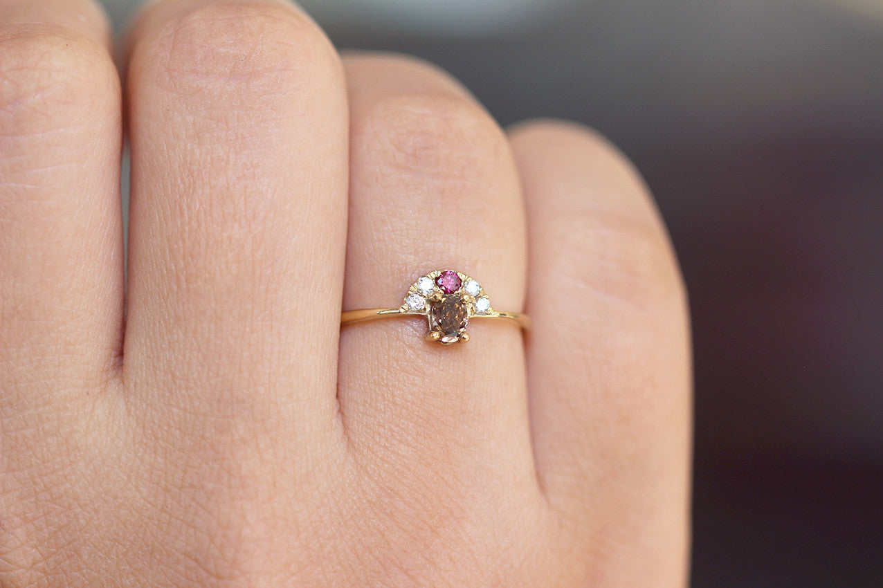 rings coloured gold amp diamond ring diamonds platinum finnies engagement rose pink image the jewellers white light jewellery