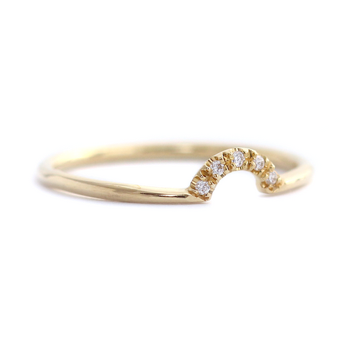 Gold Crown Wedding Ring
