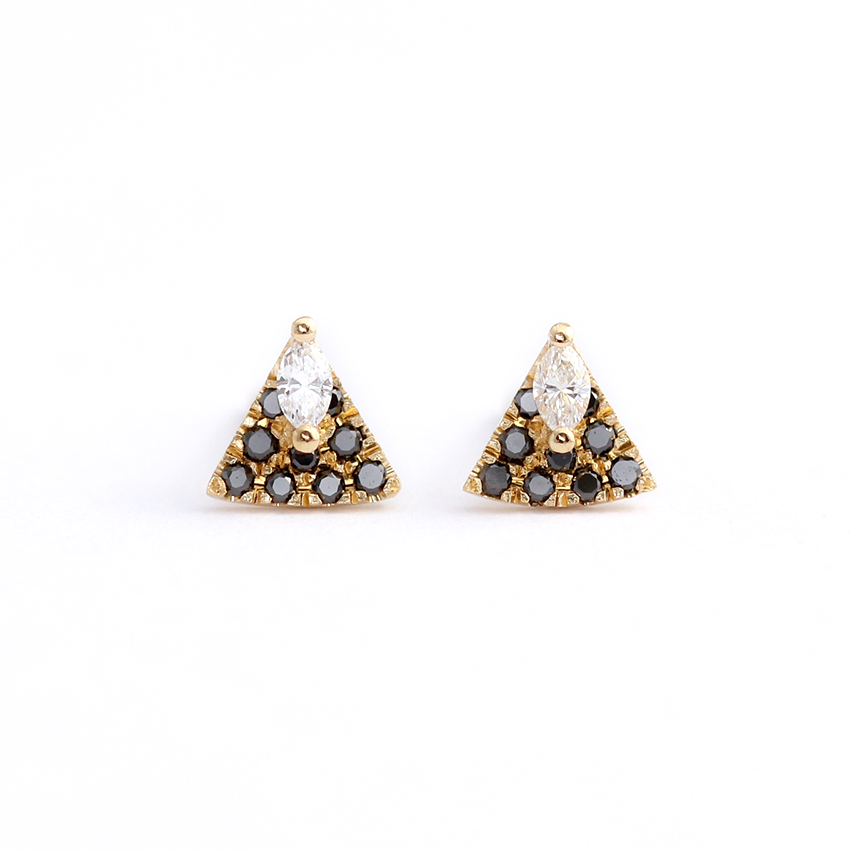 Tiny Diamond Studs