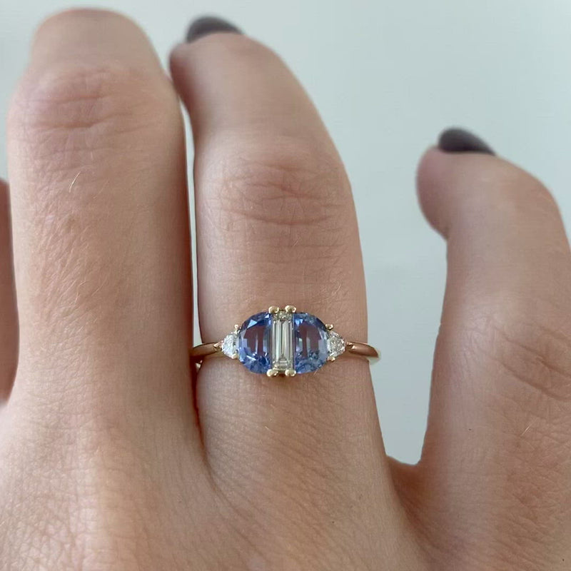 Half-Moon-Sapphire-Engagement-Ring-with-Baguette-Cut-Diamond-video