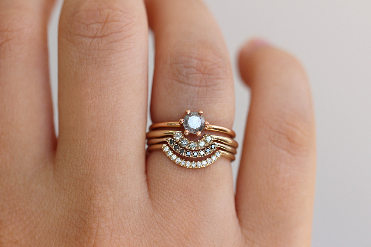 gold tilt rings ring engagement style jewellery cushion and halo eros wedding rose diamond