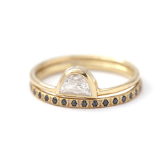 boho engagement ring