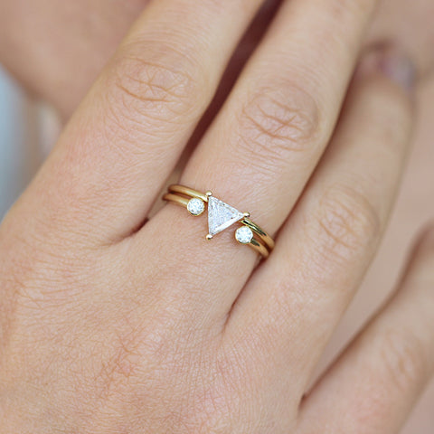 Triangle Bridal Wedding Set