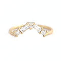 Baguette Wedding Ring