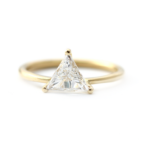 Triangel-Diamant-Ring