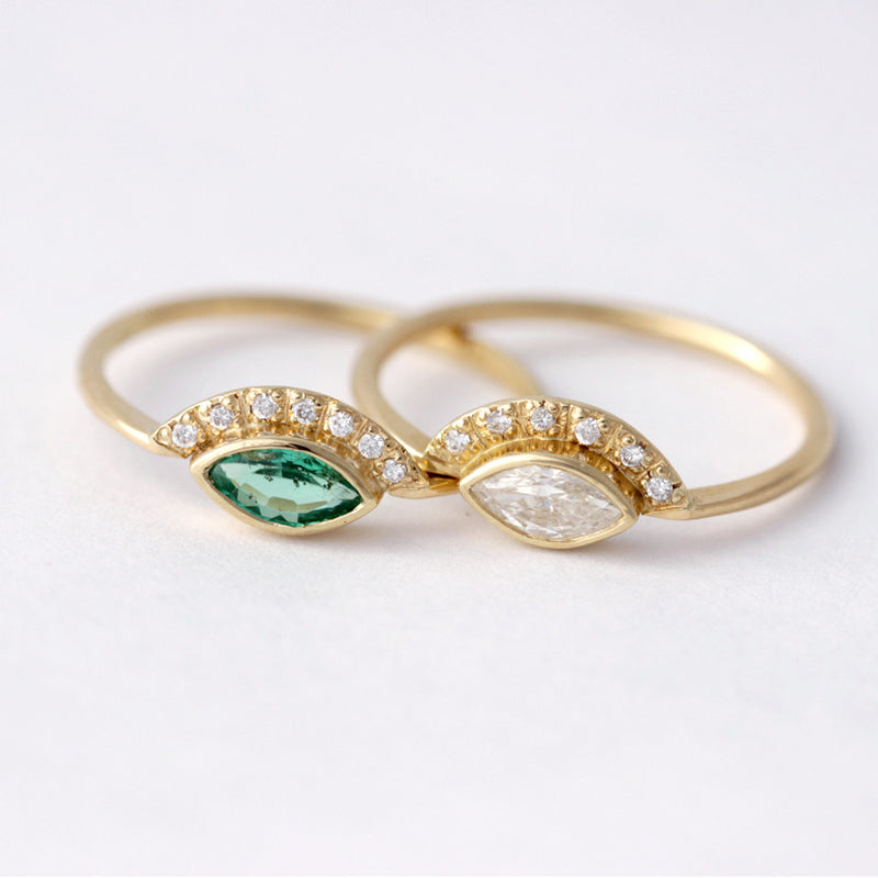 dainty engagement rings