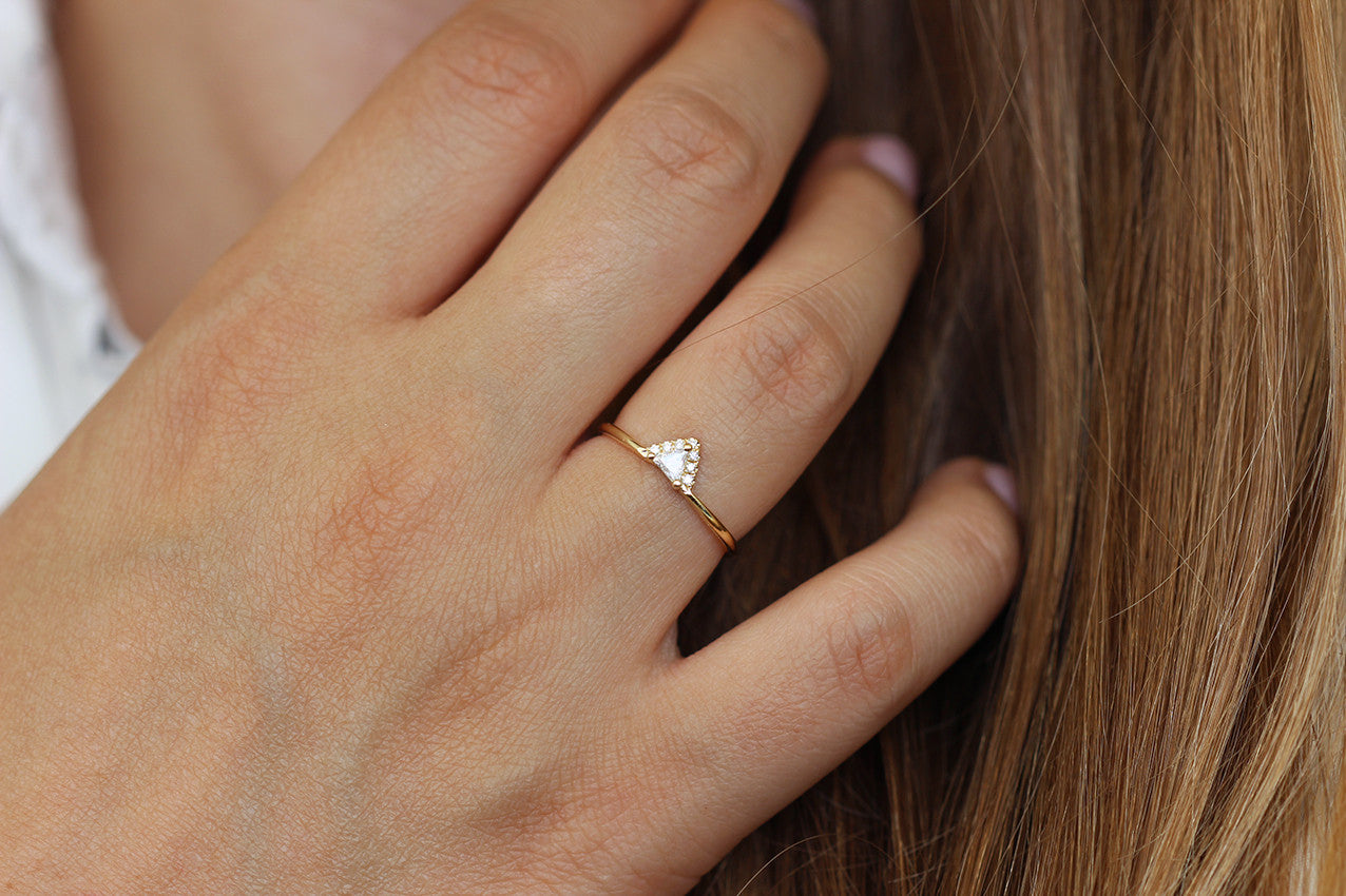 Minimalist Engagement Ring