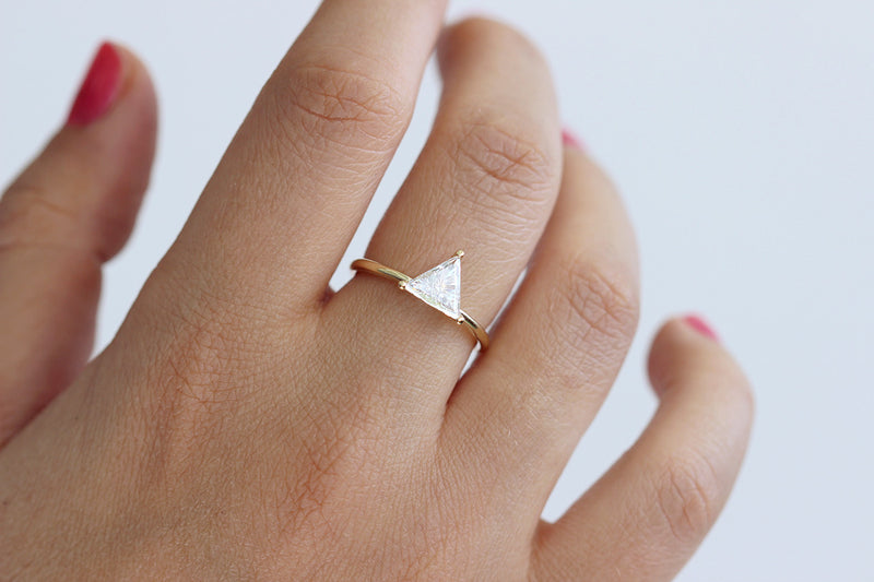 0.8 diamond Ring