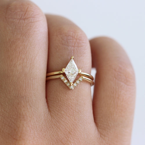 Diamant Rhombus Ring Set