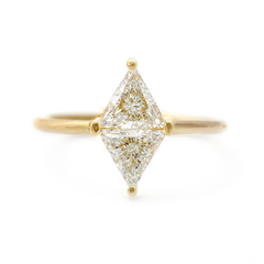 Rhombus Engagement Ring