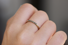 Stackable Ring on finger