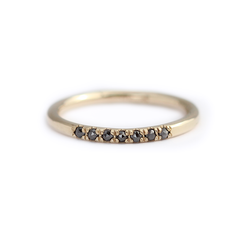 Pave Diamonds Wedding Ring