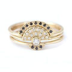 Nesting Diamond Ring
