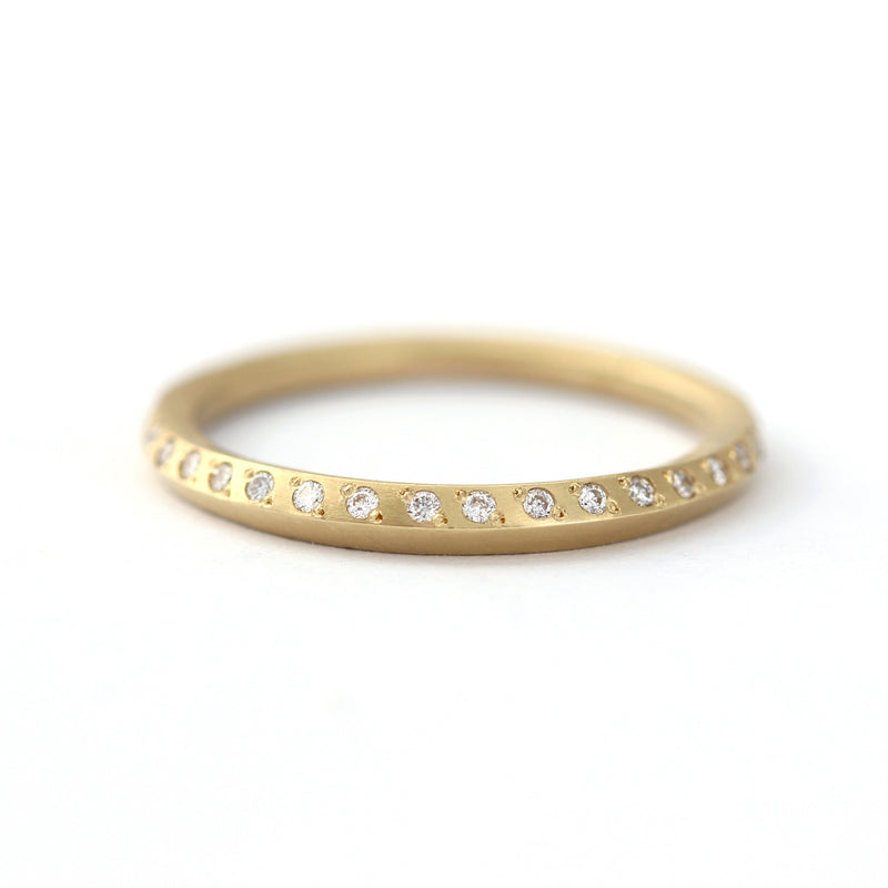Half Eternity Diamond Wedding Band
