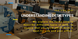 Understanding desk types - What are wave, workstation and bench desks?