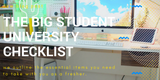 The Big Student University Checklist