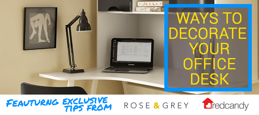 ways to decorate your office