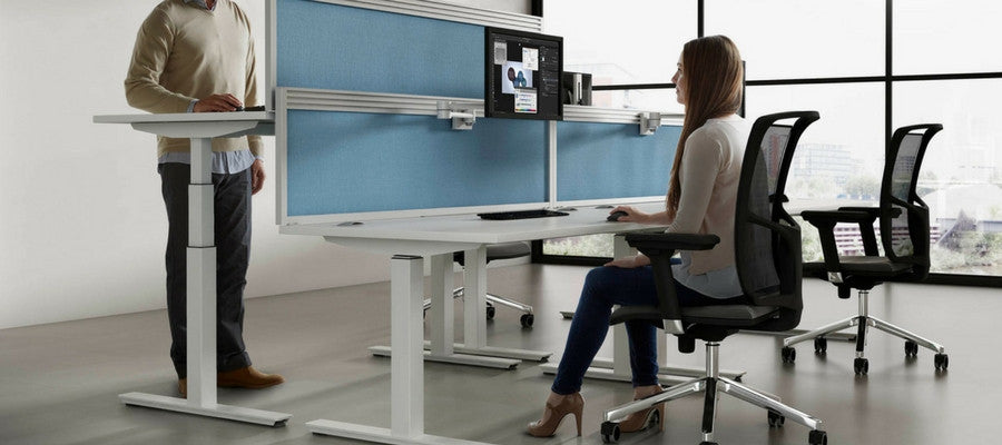 The Pros And Cons Of A Standing Vs Sitting Office Desk