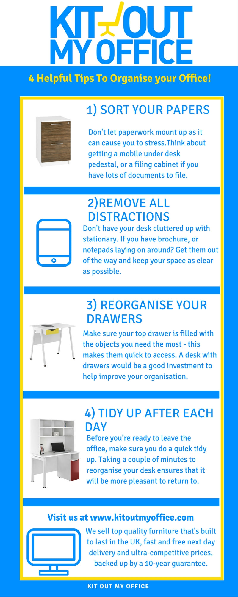 Organised office tips