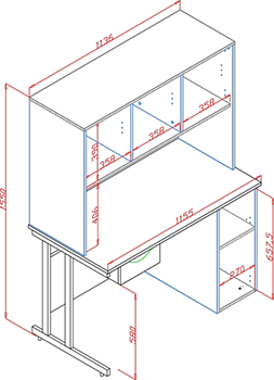UCLIC Cantilever dimensions