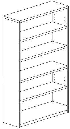 Bookcase dimensions