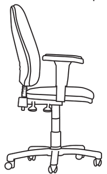 Task chair dimensions