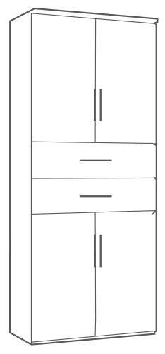 cupboard dimensions